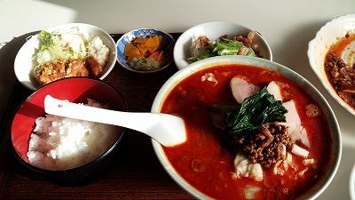 華乃樹栄華麺定食